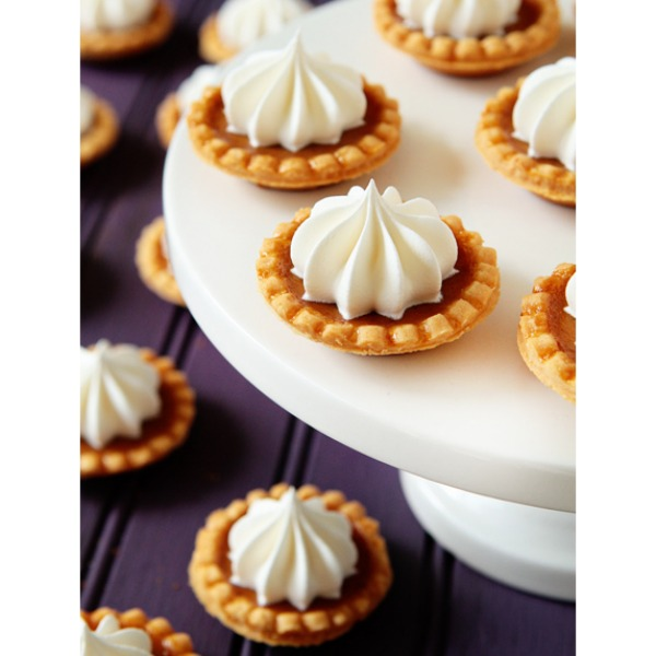 mini fall desserts miniature dessert recipes - Gourmet Halloween Recipes