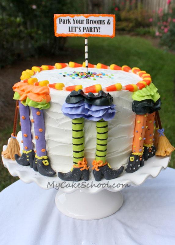 Fall Birthday Cake Easy