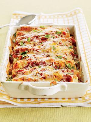 Enchilada Recipes - Recipes for Chicken and Shrimp Enchiladas