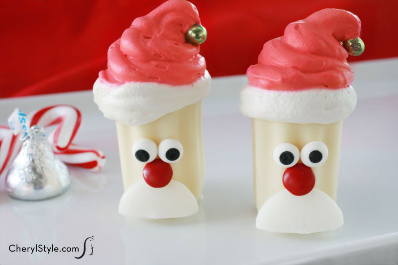 Santa Claus Desserts - Decorated Christmas Desserts