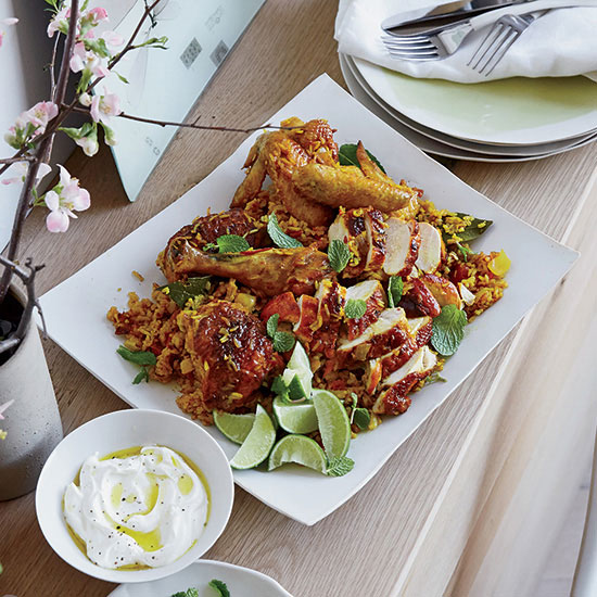 Turmeric chicken and rice recipe this is a simple one pot chicken and rice dish but forumfinder Images