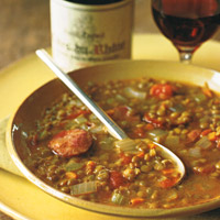 Turkey and Lentil SoupSoup RecipesThanksgiving