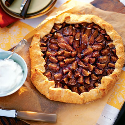 Fig Galette - Dessert Recipes - Pies - Tarts - Pastry
