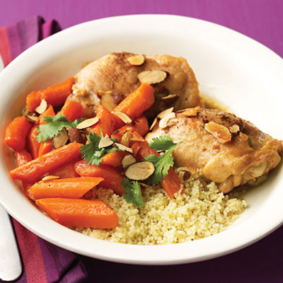 Slow Cooker Spiced Chicken Stew With Carrots