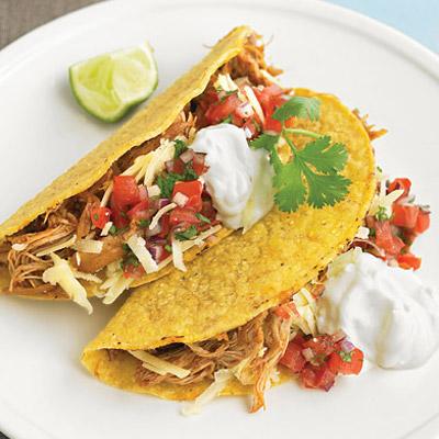 shredded chicken taco recipe slow cooker