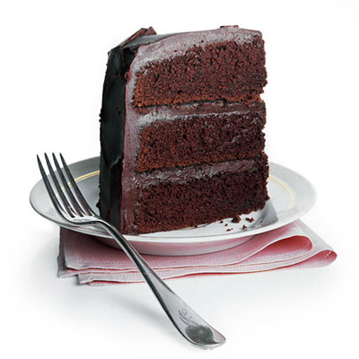 Moist Devil's Food Cake with Mrs. Milman's Chocolate ...
