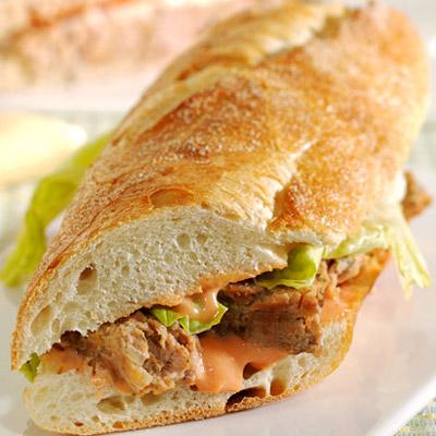 Kathleen Turner's Turkey Meatloaf Sandwich Recipe — Dishmaps