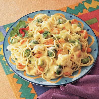 Turkey Pasta Primavera Recipe — Dishmaps