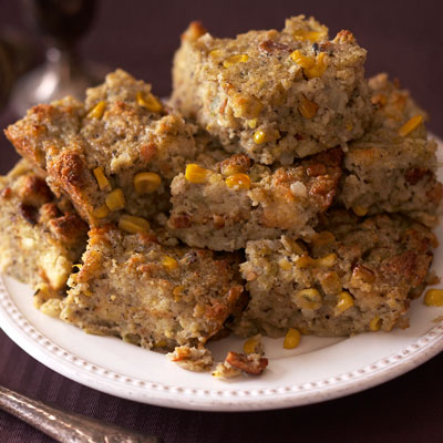 Green Chili Cornbread Stuffing Recipe