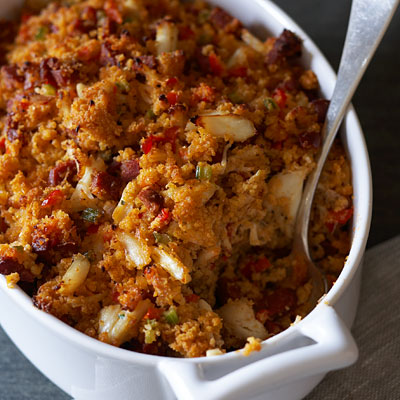 Sausage and Crab Stuffing
