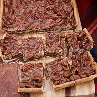 Caramel-Pecan Bars Recipe
