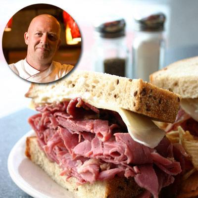 Top Chef Stefan Richter's Pastrami Sandwich Recipe