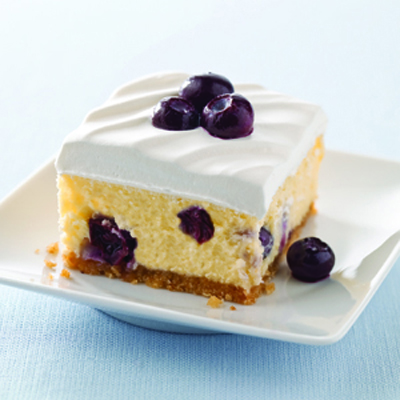 how to make blueberry puree for cheesecake