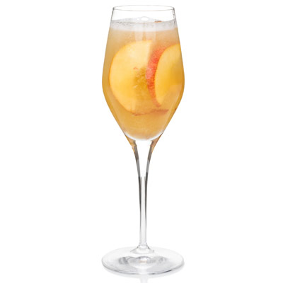 ... nectar pair wonderfully in a champagne glass.Recipe: Belly Bellini