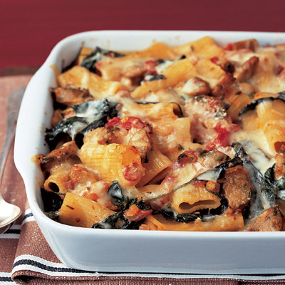Chicken and sausage and pasta recipes