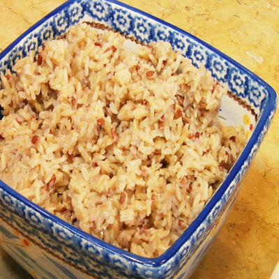 Perfect Steamed Rice Recipe - Taste of Place