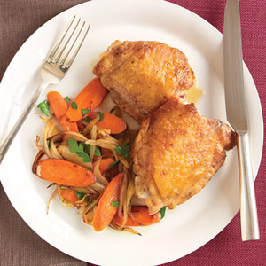 30 minute meals by martha stewart easy 30 minute recipes in just 25 minutes these seared chicken thighs will satisfy you any night of the week forumfinder Choice Image
