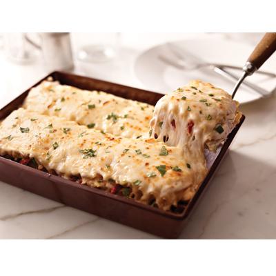 Creamy White Chicken and Artichoke Lasagna Recipe - Kraft Natural ...