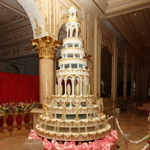 27 Great Gallery Of Celebrity Wedding Cakes ...