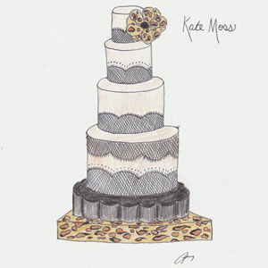 A Wedding Cake For Kate Moss