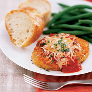Easy Cleanup Chicken Parmesan