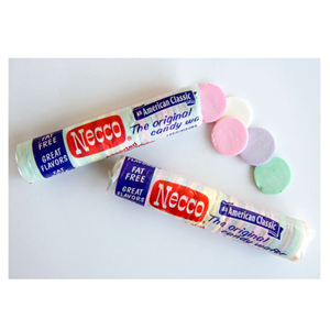 Nostalgia abounds with these tasty, colorful wafers. First created in 1847 by Necco (which stands for New England Confectionery Company), our love for these treats is still going strong today. ($.99, walgreens.com)