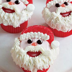 Best Santa Hat Cupcake Recipe Delish Com
