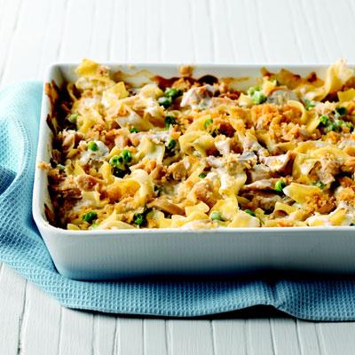 Creamy Tuna Noodle Casserole Recipe - Philadelphia Cooking ...