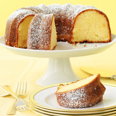 Lemon Ginger Bundt Cake Recipe