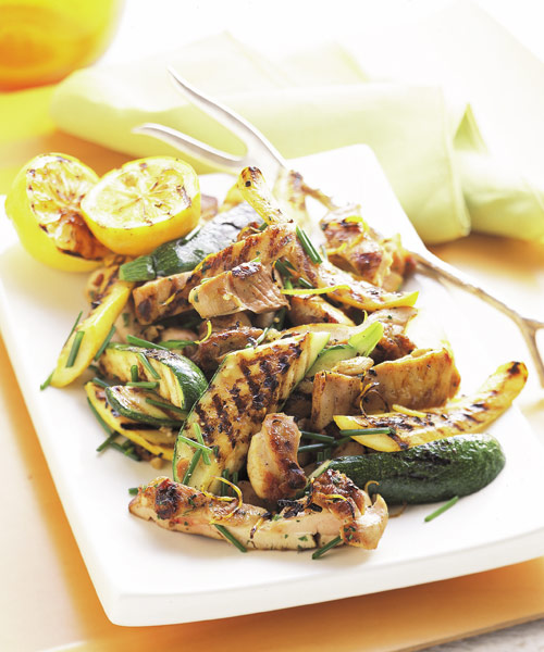 Summer Squash and Chicken