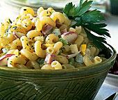 Creamy, Curly Macaroni Salad
