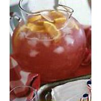 Fizzy Cranberry-Lemonade Punch