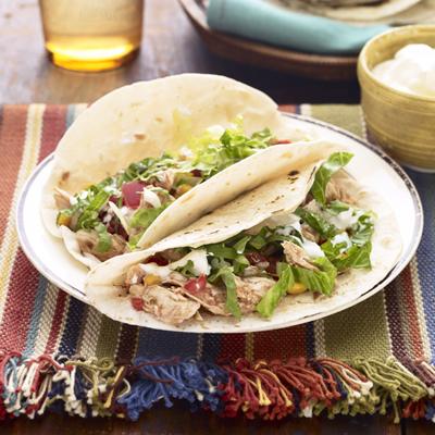 Bbq Chicken Tacos Mexican Recipes
