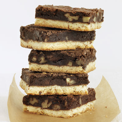 The best of both worlds, these bars combine a classic shortbread cookie with rich, chocolaty brownies. Recipe: Brownie-Pecan Shortbread Bars