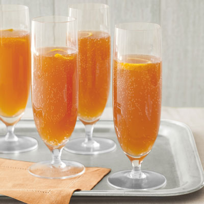 Orange cherry champagne cocktails recipe for Cocktail orange