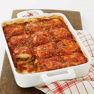 ... Skillet Ravioli Lasagna Recipe - How to Make Skillet Ravioli Lasagna