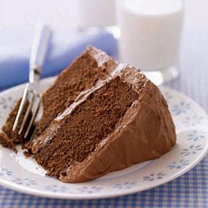 Rich Chocolate Fruit Cake Recipe