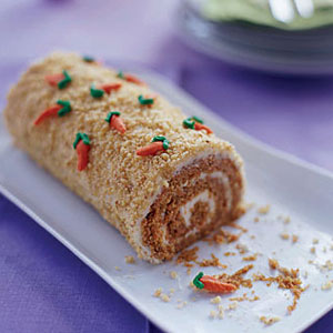 Carrot Patch Cake Roll Recipe