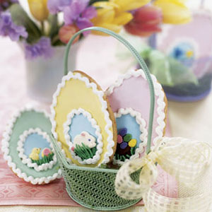 Easter Egg Puzzle Cookies Recipe
