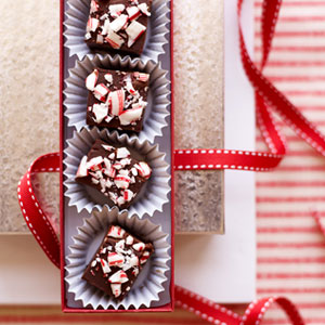 During the holidays, you should put candy canes in everything possible. Get the recipe from Delish.