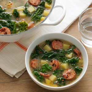 Kale sausage potato recipes