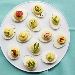 Easy Deviled Eggs Recipe – Egg Recipes at WomansDay.com