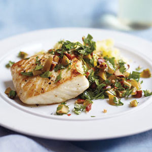Pan fried fish with creamy lemon sauce for two recipe for Cooking white fish