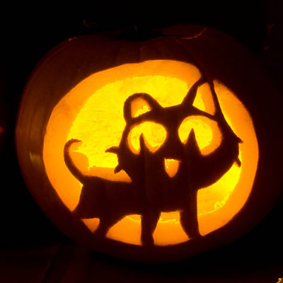 27 creative halloween pumpkin carving ideas funny jack o lantern designs delishcom - Pumpkin Halloween Carving