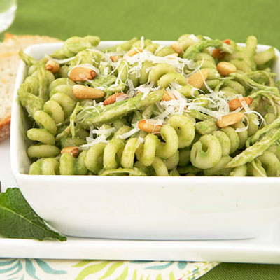 Leftover Chicken Pesto Salad Recipe — Dishmaps