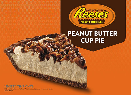Reese S Peanut Butter Cup Pie Jack In The Box