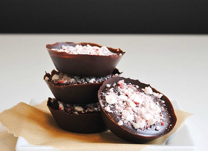 Chocolate Truffle Cups