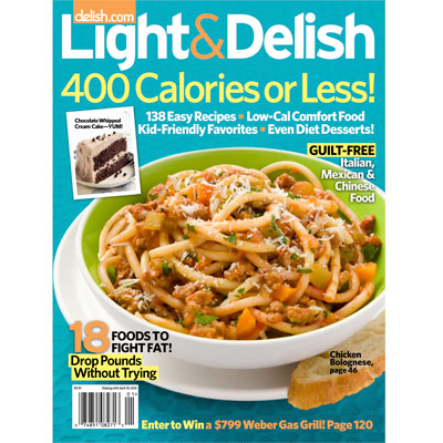Light and delish magazine cooking healthy doesnt mean you have to serve bland food when you use forumfinder Gallery