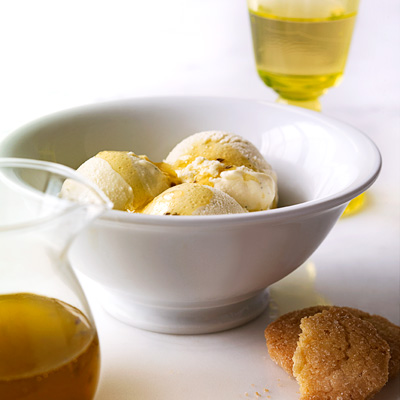Not just plain vanilla, this ice cream is as easy to make as it is delicious. Mixing olive oil into the recipe adds a subtle, savory contrast to the classic vanilla flavor, and a drizzle of the oil on top intensifies the taste. Recipe: Olive Oil Vanilla Ice Cream