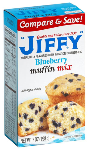 Neat blueberry muffin mix image here, check it out